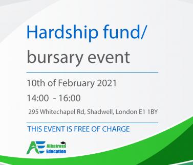 Hardship-fund-bursary-event